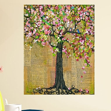 My Wonderful Walls Mixed Media Nature Lexicon Tree of Life by Blenda Tyvoll Wall Decal