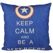 Pal Fabric Super Hero  Throw Pillow