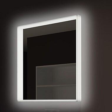 Paris Mirror Acrylic Illuminated Bathroom / Vanity Wall Mirror