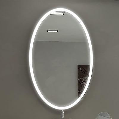 Paris Mirror Galaxy Illuminated Bathroom / Vanity Wall Mirror