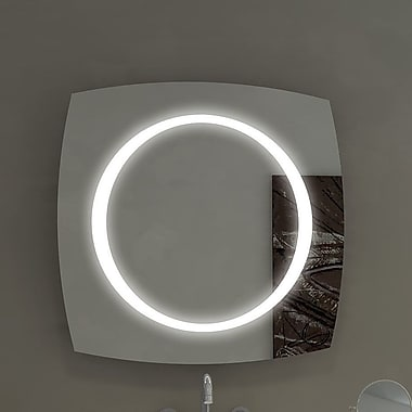 Paris Mirror Halo Illuminated Bathroom / Vanity Wall Mirror