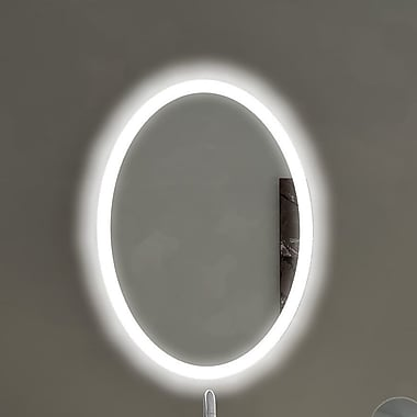 Paris Mirror Oval Backlit Bathroom / Vanity Wall Mirror
