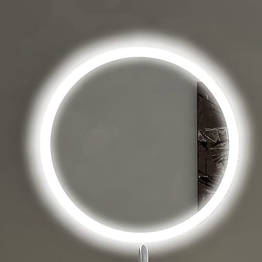 Paris Mirror Round Backlit Bathroom / Vanity Wall Mirror