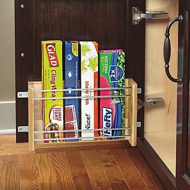 Rev-A-Shelf Small Door Mount Foil Rack; 18''