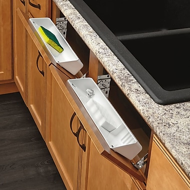 Rev-A-Shelf Polymer Tip Out Tray; 11''
