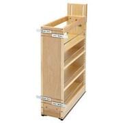 Rev-A-Shelf Pull-Out Wood Base Cabinet Organizer; 6''