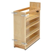 Rev-A-Shelf Pull-Out Wood Base Cabinet Organizer; 9''