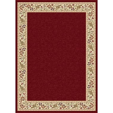 Astoria Grand Clarence Red Area Rug; Runner 2'7'' x 7'3''