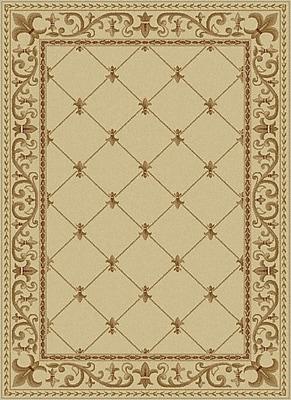 Astoria Grand Clarence Ivory Area Rug; Rectangle 9' x 12'