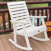 Darby Home Co Berry Rocking Chair; White