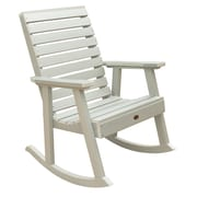 Darby Home Co Berry Rocking Chair; Whitewash