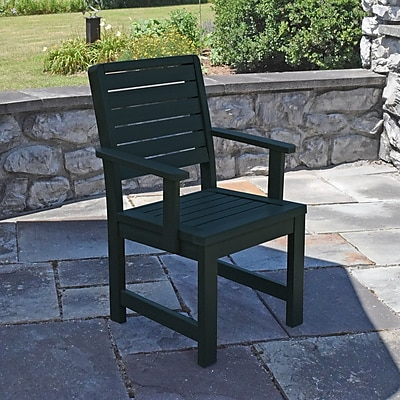 Darby Home Co Berry Patio Dining Chair; Charleston Green