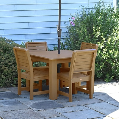 Darby Home Co Berry 5 Piece Dining Set; Toffee