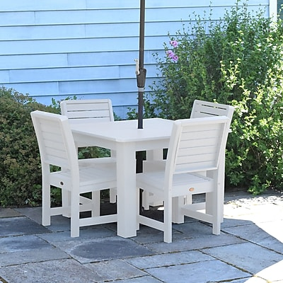 Darby Home Co Berry 5 Piece Dining Set; White
