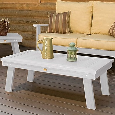 Darby Home Co Emery Side Table; White
