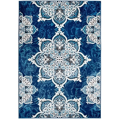 Rug and Decor Inc. Chatham Blue Area Rug; 1'10'' x 2'11''