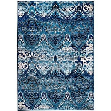 Rug and Decor Inc. Chatham Blue Area Rug; 1'10'' x 2'11''