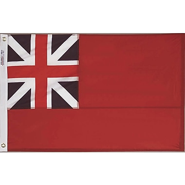 Annin Flagmakers Nylon British Red Ensign Traditional Flag; 24'' H x 36'' W