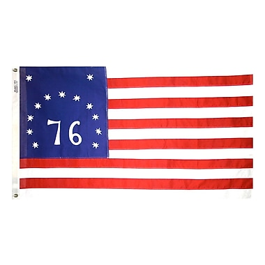 Annin Flagmakers Bulldog Bennington Traditional Flag; 24'' H x 36'' W