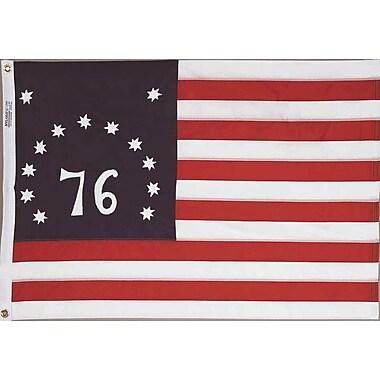 Annin Flagmakers Nylon Bennington Dyed Traditional Flag; 36'' H x 60'' W