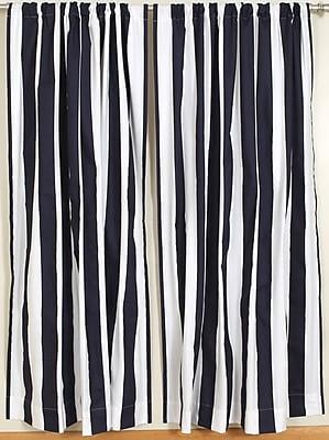 Breakwater Bay Casleton Rod Pocket Curtain Panels (Set of 2); 50'' W x 96'' L