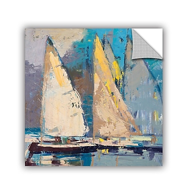 Breakwater Bay Breeze, Sail and Sky Painting Print; 18'' H x 18'' W x 0.1'' D