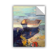 Breakwater Bay Blueglow Painting Print; 48'' H x 36'' W x 0.1'' D