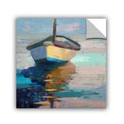 Breakwater Bay Lap, Lap, Nap, Nap Painting Print; 24'' H x 32'' W x 0.1'' D