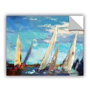 Breakwater Bay Magnificence Painting Print on Canvas; 18'' H x 24'' W x 0.1'' D