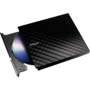 ASUS 512MB USB 2.0 Slim External DVD+RW Optical Drive, Black