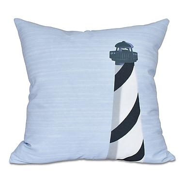 Breakwater Bay Hancock Light House Geometric Print Throw Pillow; 20'' H x 20'' W
