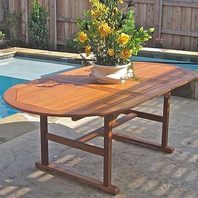 Breakwater Bay Sabbattus Oval Dining Table
