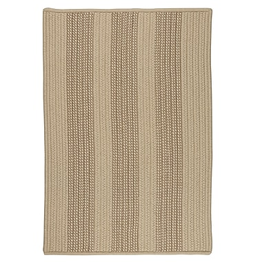 Breakwater Bay Seal Harbor Natural Indoor/Outdoor Area Rug; Square 8'
