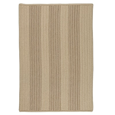 Breakwater Bay Seal Harbor Natural Indoor/Outdoor Area Rug; Runner 2' x 12'