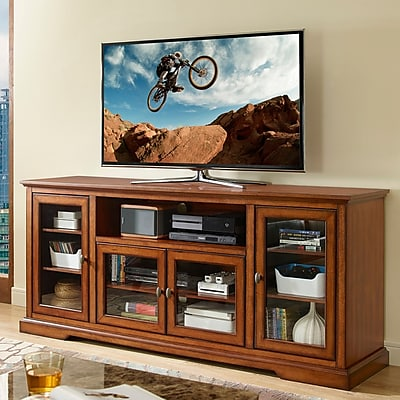 Breakwater Bay Landsdowne TV Stand; Rustic Brown WYF078280316810