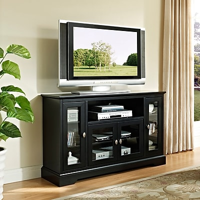 Breakwater Bay Landsdowne 52'' TV Stand; Black WYF078280316814