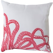 Breakwater Bay Orchid Eye Catching Octopus Outdoor Throw Pillow; 18'' H x 18'' W x 4'' D