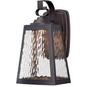 Breakwater Bay Vaughn 1-Light Outdoor Wall Lantern; 12.75'' H x 7'' W