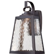 Breakwater Bay Vaughn 1-Light Outdoor Wall Lantern; 15.75'' H x 9'' W