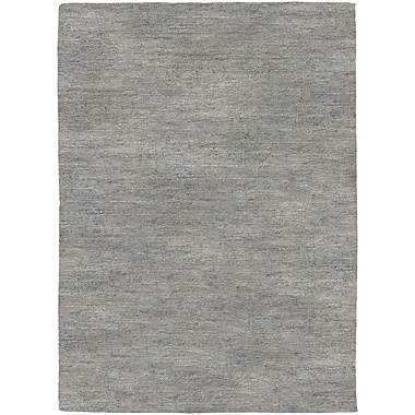 Breakwater Bay Bayside Hand-Woven Gray Area Rug; 5'3'' x 7'6''