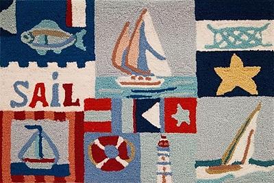 Breakwater Bay Orlando Sailing Day Rug