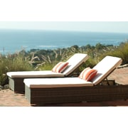 Breakwater Bay Stinson Chaise Lounge w/ Cushion; Oyster