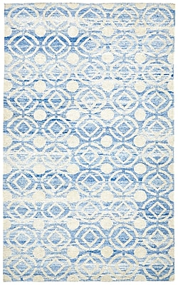 Mercer41 Reginald Hand-Woven Ocean Area Rug; Rectangle 9'6'' x 13'6''