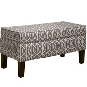 Willa Arlo Interiors Alandra Upholstered Storage Bedroom Bench; Brindle