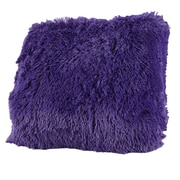 Mercer41  Carnot Very Soft and Comfy Plush Throw Pillow (Set of 2); Purple