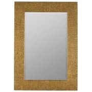 Mercer41  Rectangle Aged Gold  Mirror