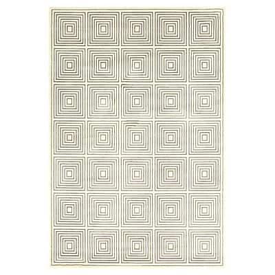 Mercer41 Sepia Hand-Loomed Cream Area Rug; 10' x 13'2''