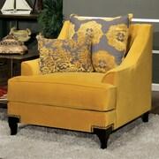 Willa Arlo Interiors Lyla Premium Armchair; Gold