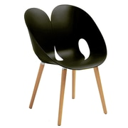 Cathay Importers – Fauteuil moderne Berenice, noir, 4/pqt