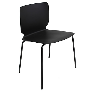 Cathay Importers – Fauteuil moderne Luisana, noir, 4/pqt